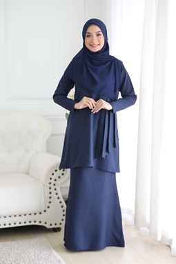 FELLINA KURUNG-DARK BLUE