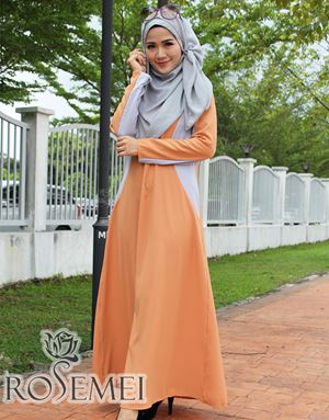 CATALIA DRESS - GOLDEN BROWN