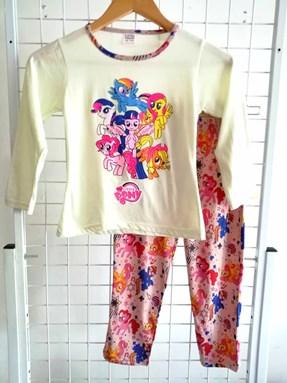 Pyjamas PLAIN LITTLE PONY Light Beige - Long Sleeve 1y-8y