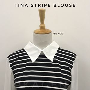 TINA STRIPE BLOUSE