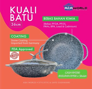 KUALI BATU 36CM [READY STOCK]