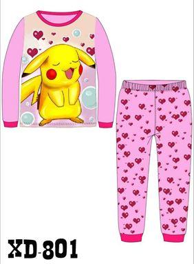 CALUBY XD-801 Kids Pyjama (2-7 tahun)