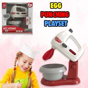 EGG PUNCHING PLAYSET