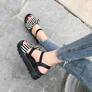 Retro Flat Thick Sole Sandals