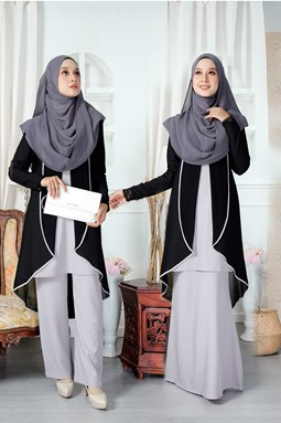 AISYAH SUIT IN SOFT GREY
