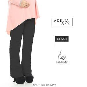 Adelia Pants : Black