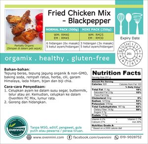 Fried Chicken (Blackpepper)