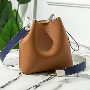 BUCKET SLING BAG | BROWN