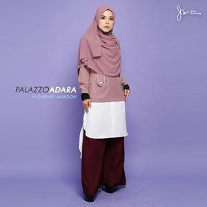 PALAZZO ADARA 02 (CHRIMEY MAROON)