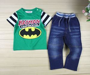 @  WS-201521-017  BATMAN GREEN  2pcs SET (sz80-130)