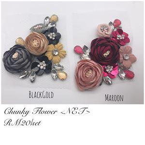 CHUNKY FLOWER NET