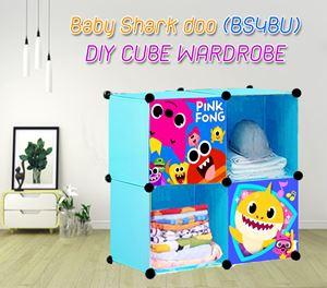 Baby Shark Doo (BS4BU) 4C  DIY CUBE WARDROBE
