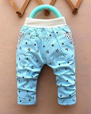 KIDS COTTON PANTS MICKEY