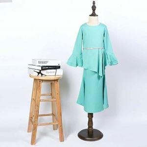 Baju Raya : Sofea Kurung - Mint Green