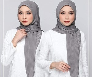 BAWAL CRUSH PLEATED SHIMMERING
