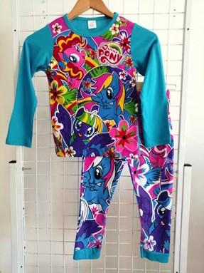 Pyjamas  Long Sleeve LITTLE PONY FLORA Blue