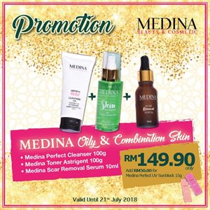 Medina Oily and Combination Skin