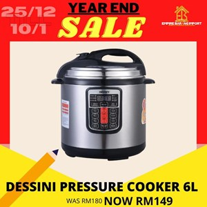 READY STOCK PRESSURE COOKER DESSINI
