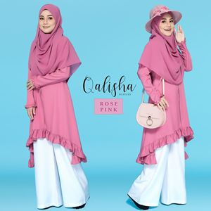 BLOUSE QALISHA - ROSE PINK