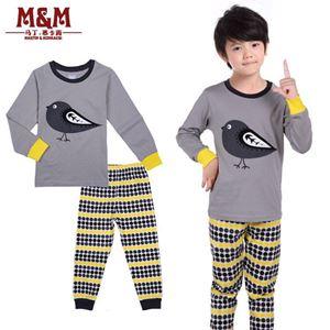 Grey Bird Pajamas