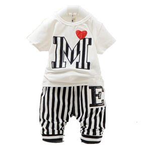 MICKEY BLACK & WHITE  KOREAN BABY 2pcs SET (sz80-110)