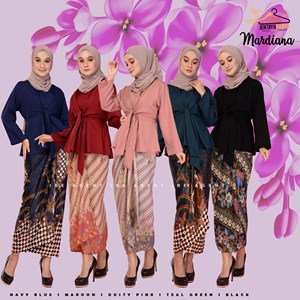 MARDIANA KURUNG WITH BATIK PARIO
