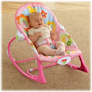 Infant-to-Toddler Rocker pink NEW segi 4 ready stock