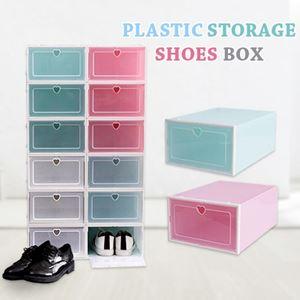 PLASTIC STORAGE SHOE BOX