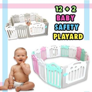 12+2 BABY SAFETY PLAYARD
