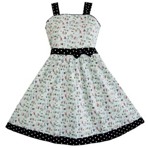 B & G 163  GIRL DRESS ( SIZE 11-12Y )