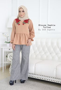 Blouse Sephia Toffee