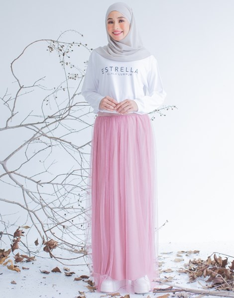 SYATY TULLE SKIRTS IN PINK BELACAN