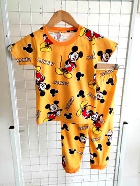 Pyjamas MICKEY MOUSE YELLOW : KIDS size 2 - 10
