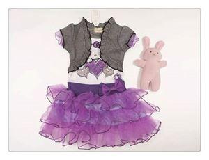 G026/14 KITTY DRESS ( PURPLE )