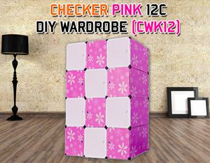 CHECKER 12C DIY WARDROBE (CWK12)