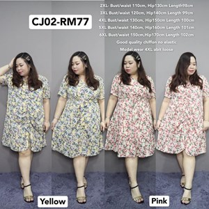 CJ02 Ready Stock * Bust110-150cm