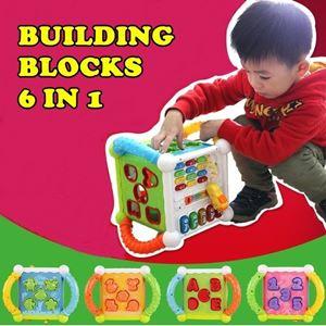 BUILDING BLOCK 6 IN 1 n00757
