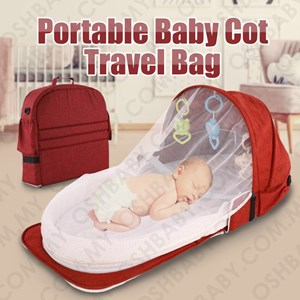 PORTABLE BABY COT TRAVEL BAG