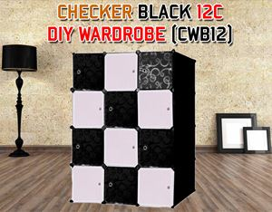 CHECKER 12C DIY WARDROBE (CWB12)