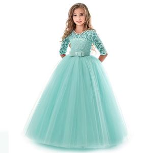 PRINCESS DRESS ( GREEN TIFANNY  ) SZ 130-170