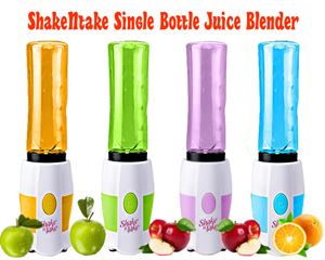 New ShakeNtake Single Bottle Juice Blender