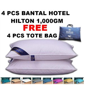 [ETA 02th SEPT ] BANTAL HOTEL HILTON 1KG + TOTE BAG