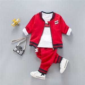 KOREAN BOY SET 10 ( 3pcs set Jacket+Long Sleeves Shirt+Pants)