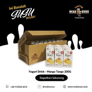Yogurt Drink - Mango Tango 200G X 24 PKTS