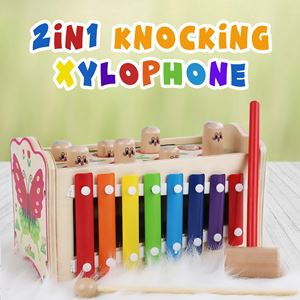 2 IN 1 KNOCKING XYLOPHONE