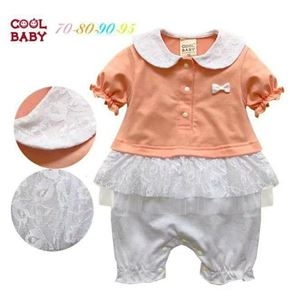 CUTE LACEY BABY GIRL ROMPER