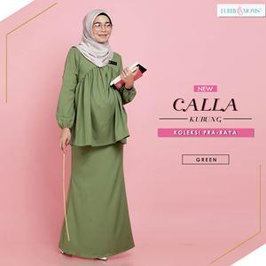 Calla Kurung - Green