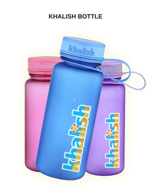 Khalish Drinking Water Bottle, 600ml, 1 pcs