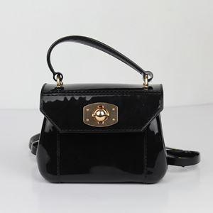 Black Jelly Handbag