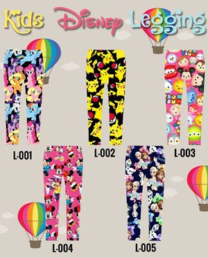 Kids Disney Legging (2T & 6T)